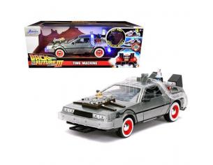 BTTF III DELOREAN DIE CAST 1:24 W LIGHTS MODELLI IN SCALA MODEL CAR