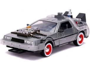 BTTF III DELOREAN DIE CAST 1:24 W LIGHTS MODELLI IN SCALA MODEL CAR