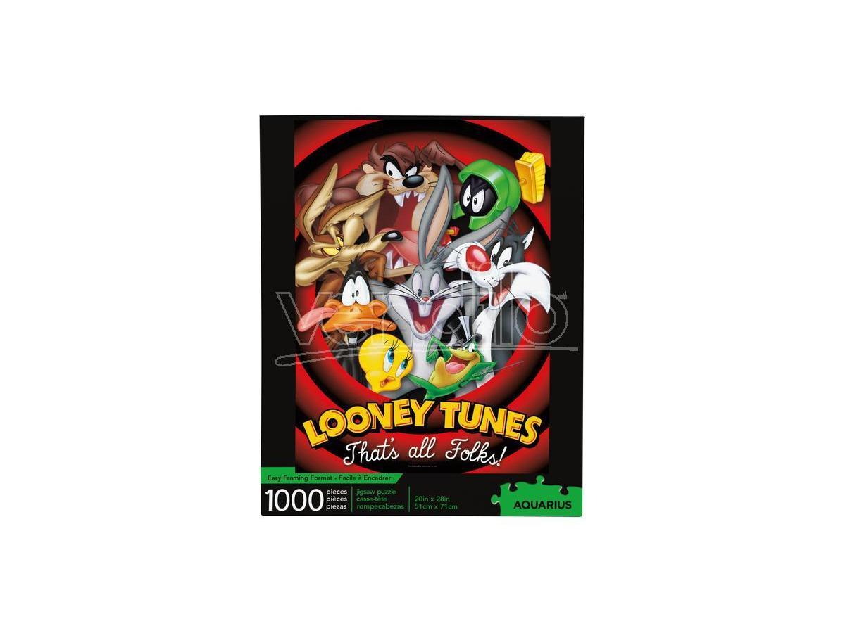 LOONEY TUNES 1000 PCS PUZZLE PUZZLE AQUARIUS ENT