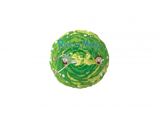Rick E Morty Logo Round Cuscino Cuscino Sd Toys