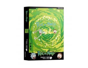 Rick E Morty Portal 1000 Pcs Puzzle Puzzle Sd Toys
