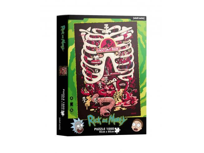 RICK&MORTY ANATOMY PARK 1000 PCS PUZZLE PUZZLE SD TOYS