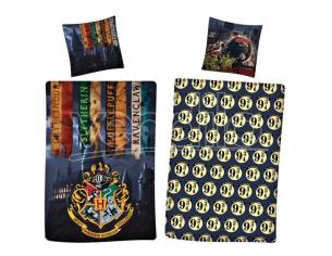 Harry Potter Copripiumino Letto Reversibile 90 cm Warner Bros.