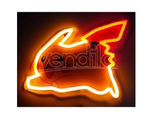 Pokemon Pikachu Neon Mural Lampada Teknofun