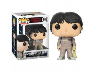 Pop Figura Stranger Things Ghostbuster Mike Funko