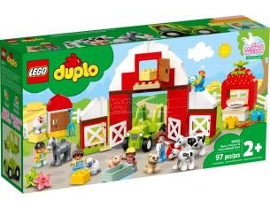 LEGO DUPLO 10952 - FATTORIA CON FIENILE, TRATTORE E ANIMALETTI