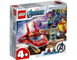 LEGO SUPER HEROES 76170 - MARVEL IRON MAN VS THANOS