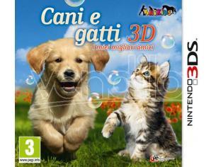 CANI E GATTI 3D - I MIEI MIGLIORI AMICI SIMULAZIONE NINTENDO 3DS
