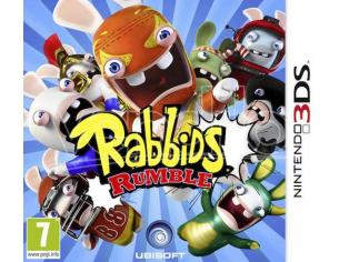 RABBIDS RUMBLE PARTY GAME - NINTENDO 3DS