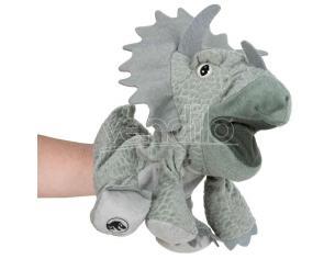 Jurassic World Triceratops Hand Puppet Peluche 25cm