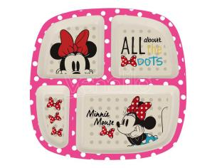 Disney Minnie bamboo divided plate Stor