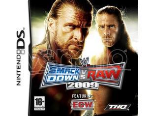WWE SMACKDOWN VS RAW 2009 SPORTIVO - OLD GEN