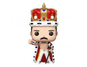 The Queen Funko POP Musica Vinile Figura Freddie Mercury con Corona e Mantello 9cm