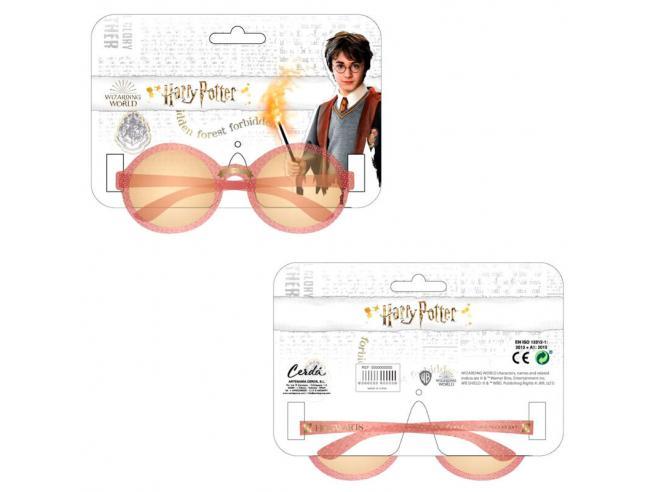 Harry Potter Occhiali Da Sole per Bambini Rosa con Scritta Hogwarts Cerdà