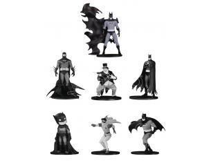 BATMAN BLACK&WHITE MINI FIG 7 PK SET(4) MINI FIGURA DC DIRECT