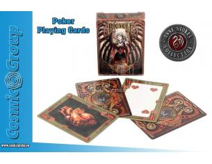 ANNE STOKES STEAMPUNK PLAYING CARDS CARTE DA GIOCO NEMESIS NOW