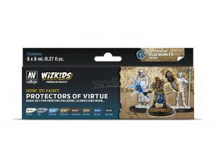 Wizbambino Ps Protectors Of Virtue Colori Vallejo