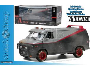 THE A TEAM GMC VANDURA WEATHERED 1:24 MODELLI IN SCALA MODEL CAR
