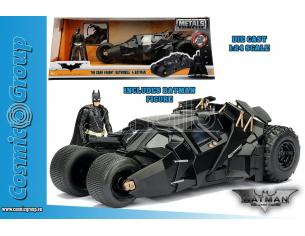 THE DARK KNIGHT TRILOGY BATMOBILE 1:24 MODELLI IN SCALA MODEL CAR