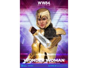 Ww84 Wonder Woman Golden Armor Dah Action Figura Beast Kingdom