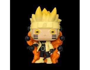 Naruto Shippuden Funko POP Vinile Figura Animazione Naruto Six Path Sage Luminoso 9 cm