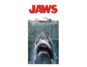 Jaws Beach Poster Asciugamano Telo Mare Factory Entertainment