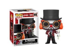Pop Figura Money Heist Professor O Clown Funko