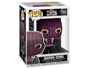 Pop Figura Marvel The Falcon E The Winter Soldier Baron Zemo Funko