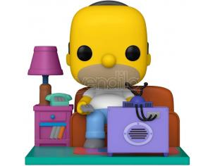 The Simpsons Funko POP Animazione Vinile Figura Homer Guarda la TV 18 cm