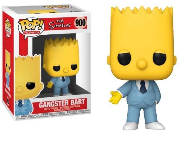 The Simpsons Funko POP Animazione Vinile Figura Gangster Bart 9 cm