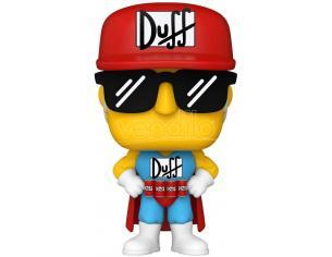 The Simpsons Funko POP Animazione Vinile Figura Duffman 9 cm