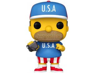 The Simpsons Funko POP Animazione Vinile Figura Homer U.S.A. 9 cm