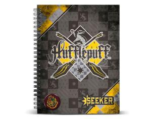 Harry Potter Quidditch Tassorosso A4 Agenda Karactermania