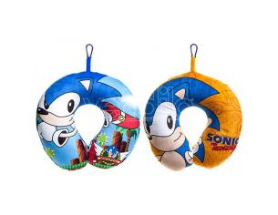 Sonic The Hedgehog Assortiti Neck Cuscino Sega