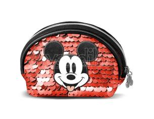 Disney Mickey Donut Paillettes Borsellino Karactermania