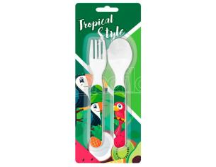 Tropical Style Toucan Cutlery Set Bambino Licensing
