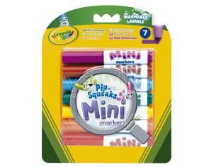Crayola Set 7 Mini Washable Markers Crayola