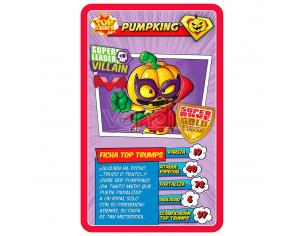 Superzings Top Trumps Spagnolo Game Eleven Force