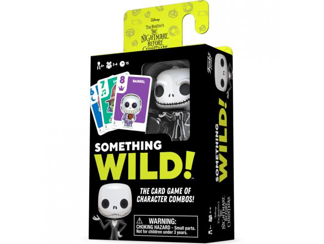 Something Wild Card Game Disney Nightmare Before Natale German / Spagnolo / Italian Funko