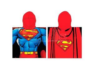 Dc Comics Superman Poncho Asciugamano Dc Comics