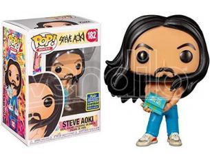 Steve Aoki Funko POP Musica Rock Vinile Figura Steve Aoki 9 cm Esclusiva