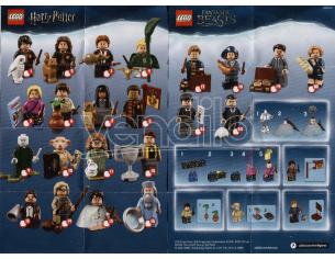 LEGO HARRY POTTER 71022 - MINIFIGURES SERIE COMPLETA HP E ANIMALI FANTASTICI