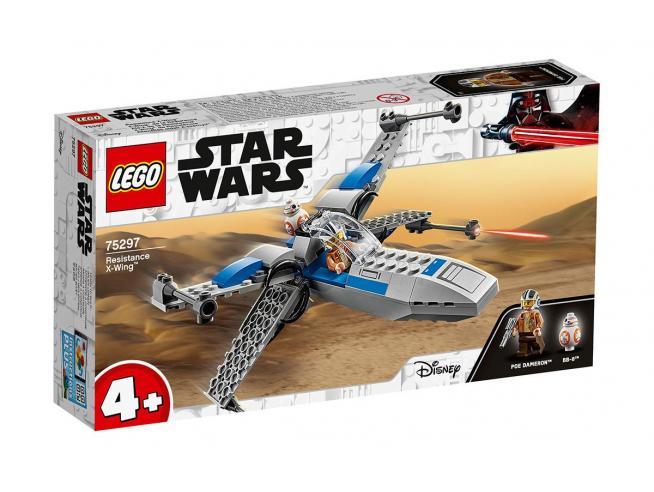 LEGO STAR WARS 75297 - X-WING STARFIGHTER DELLA RESISTENZA