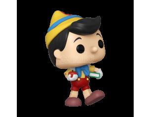 Pinocchio Disney Funko POP Animazione Vinile Figura Pinocchio va a Scuola 9 cm
