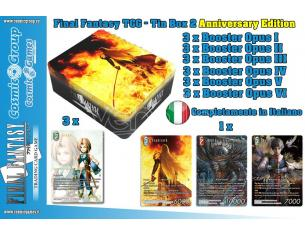 FFTCG TIN BOX Vol. 2 ANNIVERSARY GIOCO DA TAVOLO SQUARE ENIX