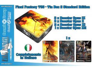 FFTCG TIN BOX Vol. 2 STANDARD GIOCO DA TAVOLO SQUARE ENIX