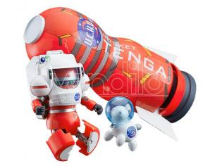 Space Tenga Robo Dx Rocket Mission Set Action Figura Goodsmile