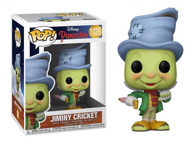Pinocchio Disney Funko POP Animazione Vinile Figura Grillo Parlante 9 cm