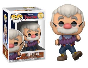 Pinocchio Disney Funko POP Animazione Vinile Figura Geppetto con Fisarmonica 9 cm