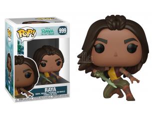 Raya e l'Ultimo Drago Disney Funko POP Animazione Vinile Figura Raya (Posa da Guerriera) 9 cm
